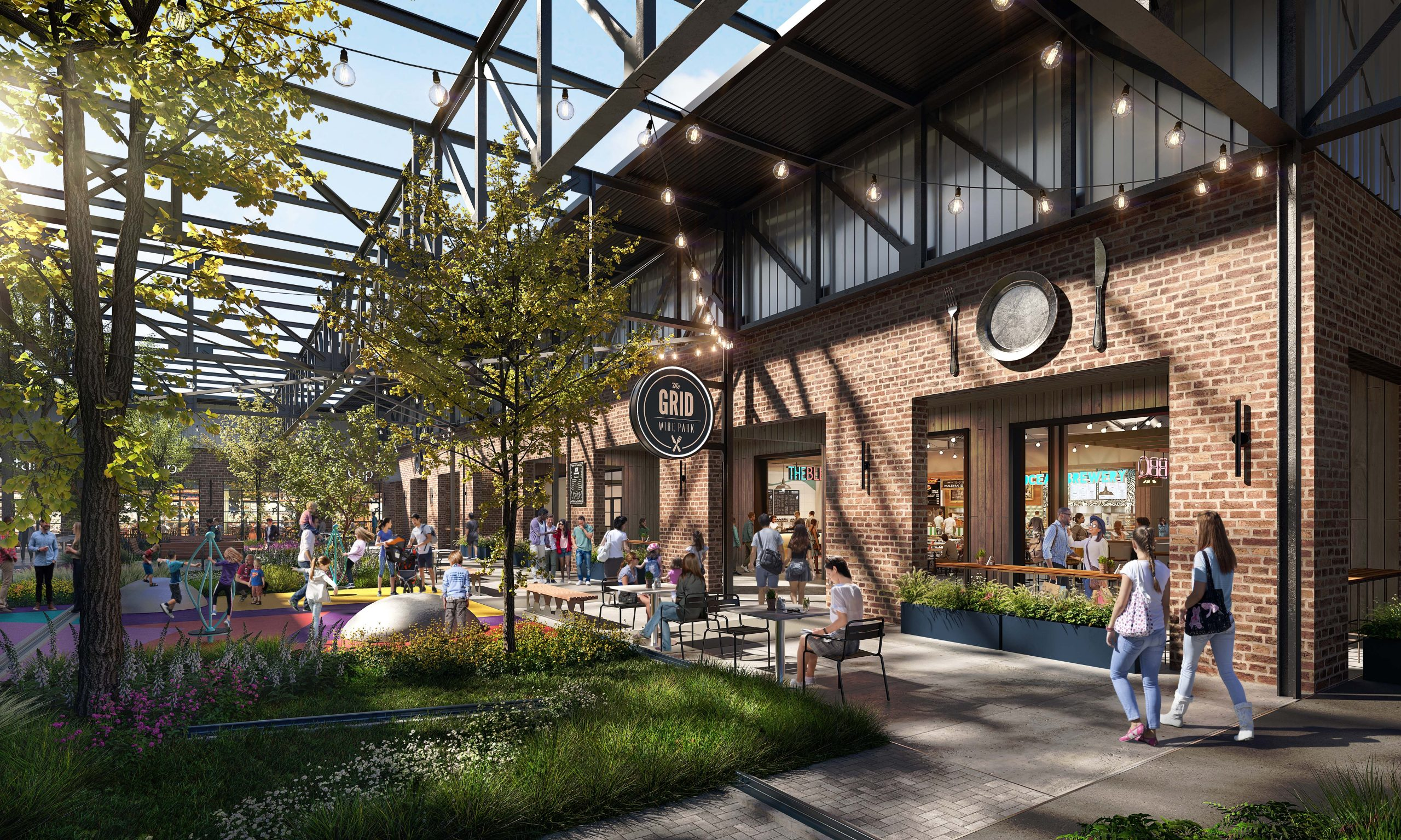 Stafford Leads Retail, Restaurant, And Food Hall Leasing Efforts At Wire Park